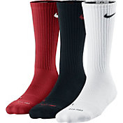 Nike Kids' Dri-FIT Cushioned Crew Athletic Socks 3 Pack