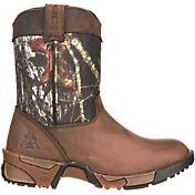 "Rocky Kids' Aztec Break-Up 6"" Field Hunting Boots"