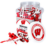 Team Golf Wisconsin Badgers 2.75' Golf Tees - 175-Pack