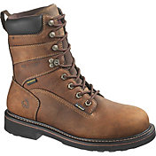 "Wolverine Men's Brek 8"" Waterproof DuraShocks Work Boots"