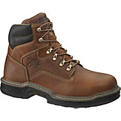 "Wolverine Men's Raider MultiShox Contour Welt 6"" Steel Toe Work Boots"