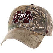 '47 Men's Mississippi State Bulldogs Camo Clean Up Adjustable Hat