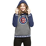 '47 Women's Chicago Cubs Grey Encore Pullover Hoodie