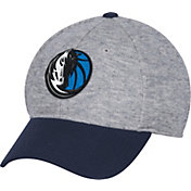 adidas Men's Dallas Mavericks Structured Grey Flex Hat