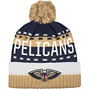 adidas Men's New Orleans Pelicans Cuffed Pom Knit Hat