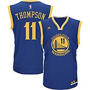 adidas Men's Golden State Warriors Klay Thompson #11 Road Royal Replica Jersey