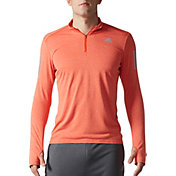 adidas Men's Response Running Half Zip Long Sleeve Shirt