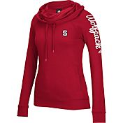 adidas Women's NC State Wolfpack Red Tunnel Neck Long Sleeve Shirt