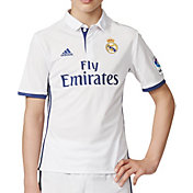 adidas Youth Real Madrid 16/17 Replica Home Jersey