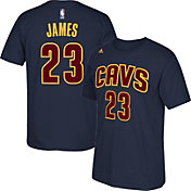 adidas Youth Cleveland Cavaliers LeBron James #23 Navy T-Shirt