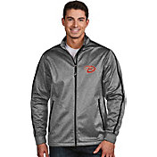 Antigua Men's Arizona Diamondbacks Grey Golf Jacket