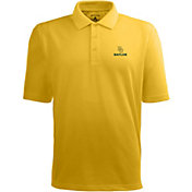 Antigua Men's Baylor Bears Gold Xtra-Lite Polo