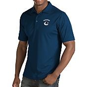 Antigua Men's Vancouver Canucks Inspire Navy Polo