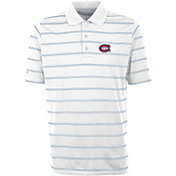 Antigua Men's Montreal Canadiens Deluxe White Polo
