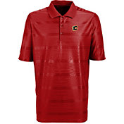 Antigua Men's Calgary Flames Illusion Red Polo