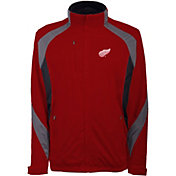 Antigua Men's Detroit Red Wings Tempest Red Full-Zip Jacket