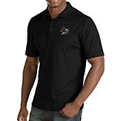 Antigua Men's San Jose Sharks Inspire Black Polo
