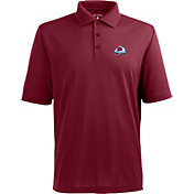 Antigua Men's Colorado Avalanche Burgundy X-tra Lite Elite Polo