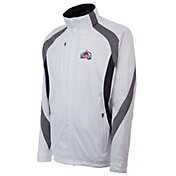 Antigua Men's Colorado Avalanche Tempest White Full-Zip Jacket