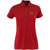 Antigua Women's Calgary Flames Red Spark Polo