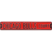 Authentic Street Signs Chicago Bulls Court Sign