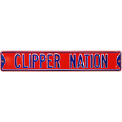 Authentic Street Signs Los Angeles Clippers 'Clippers Nation' Street Sign