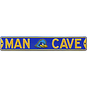 Authentic Street Signs Delaware Fightin' Blue Hens 'Man Cave' Street Sign