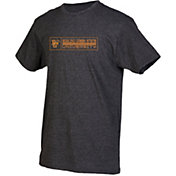 boxercraft Youth Bowling Green Falcons Grey Just for You Crew Wordmark and Logo T-Shirt