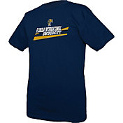 boxercraft Youth FIU Golden Panthers Blue Just for You Crew Wordmark and Logo T-Shirt