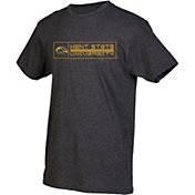 boxercraft Youth Kent State Golden Flashes Grey Just for You Crew Wordmark and Logo T-Shirt