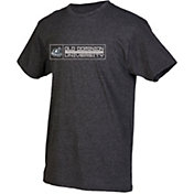 boxercraft Youth Old Dominion Monarchs Grey Just for You Crew Wordmark and Logo T-Shirt