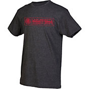 boxercraft Youth Louisiana-Lafayette Ragin' Cajuns Grey Just for You Crew Wordmark and Logo T-Shirt