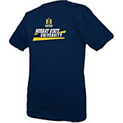 boxercraft Youth Murray State Racers Navy Blue Just for You Crew Wordmark and Logo T-Shirt