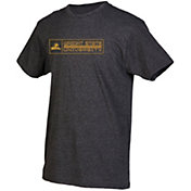 boxercraft Youth Wright State Raiders Grey Just for You Crew Wordmark and Logo T-Shirt