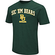 Colosseum Athletics Men's Baylor Bears Green Team Slogan T-Shirt