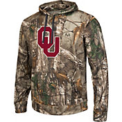 Colosseum Athletics Men's Oklahoma Sooners Camo Breech Pullover Hoodie