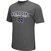 Colosseum Athletics Men's Notre Dame Fighting Irish Grey Classic T-Shirt