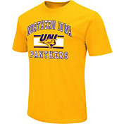 Colosseum Athletics Men's Northern Iowa Panthers Gold Dual Blend T-Shirt
