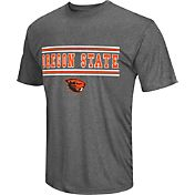Colosseum Athletics Men's Oregon State Beavers Grey Matrix T-Shirt