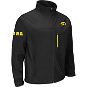 Colosseum Athletics Men's Iowa Hawkeyes Yukon Black Jacket