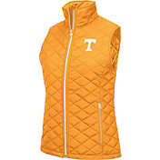 Colosseum Athletics Women's Tennessee Volunteers Tennessee Orange Elite Quilted Vest