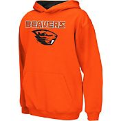 Colosseum Athletics Boys' Oregon State Beavers Orange Poly Fleece Hoodie