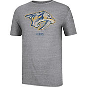 CCM Men's Nashville Predators Logo Grey T-Shirt