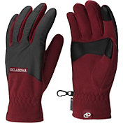 Columbia Oklahoma Sooners Overlay Gloves