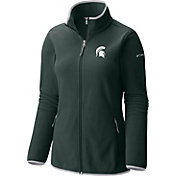 Columbia Women's Michigan State Spartans Green Fuller Ridge Fleece Jacket