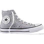 Converse Chuck Taylor All Star Sparkle Knit Hi-Top Casual Shoes