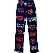 Concepts Sports Mens's Chicago Bears Navy Wildcard Fleece Pants