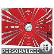 Callaway Chrome Soft Personalized Golf Balls