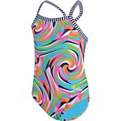 Dolfin Girls' Toddler Uglies Kandyland Swimsuit