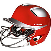 Easton Youth Natural Two-Tone Batting Helmet w/ Mask